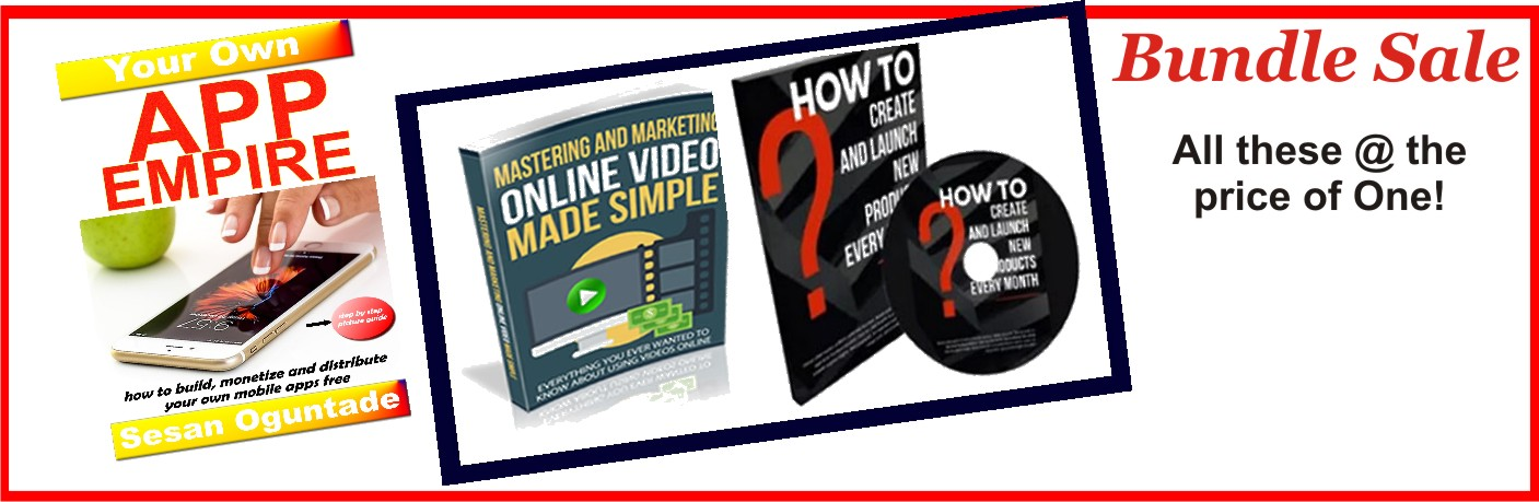 Bundle Sale: App Empire and How to Create Business Videos
