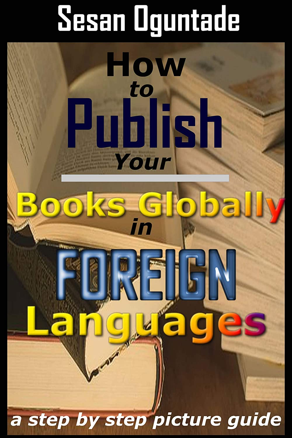 How to publish your books globally