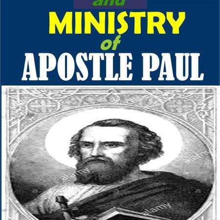 apostle paul ministry